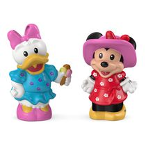Fisher-Price Little People – La Magie de Disney – Coffret Figurines Minnie et Daisy