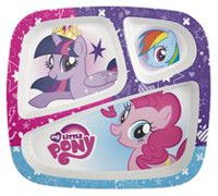 My Little Pony Divided Plate for Kids