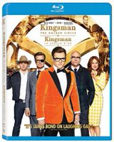 Kingsman: Le Cercle d'Or (Blu-ray + DVD + Numérique) (Bilingue)