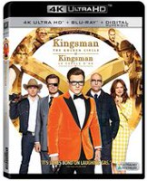 Kingsman: Le Cercle d'Or (4K Ultra HD + Blu-ray + Numérique) (Bilingue)