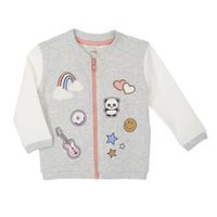 George Toddler Girls' Bomber Style Sweater 3T