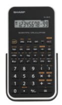 Calculatrice scientifique SHARP EL501XBWH