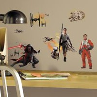 RoomMates Star Wars Peel and Stick Wall Decals