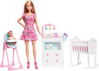 Barbie Babysitter Dolls & Playset