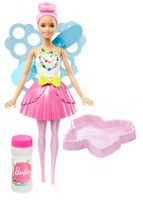 Barbie Dreamtopia Bubbletastic Fairy Doll, Light Pink