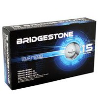 Mulligan Bridgestone Tour Model 15 Golf Balls Pack