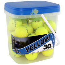 Mulligan Yellow 30 Golf Balls Bucket