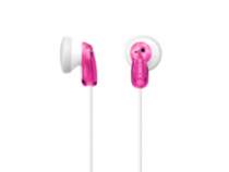 Sony Earbud Headphones Pink