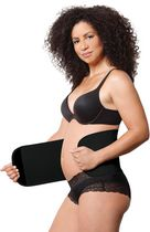 Belly Shaper By Under Wrapz Black size Small