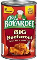 Chef Boyardee® Big Beefaroni Pasta and Beef in Tomato Sauce