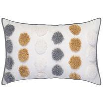 hometrends Plinko Gold Decorative Pillow