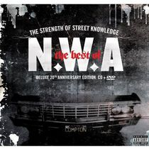 N.W.A. - The Strength Of Street Knowledge: The Best Of NWA (Deluxe 20th Anniversary Edition) (CD/DVD)
