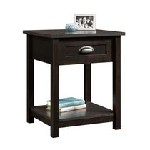 Sauder, Night Stand, Estate Black Finish, 416744