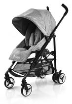 StrollAir ReVu Black Umbrella Stroller Grey