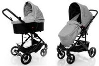 StrollAir CosmoS Single Stroller Grey
