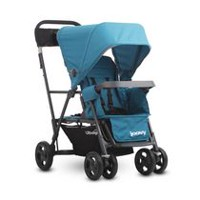 Joovy Caboose Ultralight Graphite Stand-On Tandem Stroller Turquoise