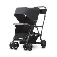 Joovy Caboose Ultralight Graphite Stand-On Tandem Stroller Black