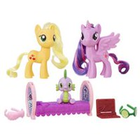 My Little Pony - Princesse Twilight Sparkle et Applejack Amitiés princières