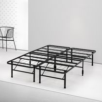 Zinus Smartbase Black Bed Base / Platform / Bed Frame / Box Spring Replacement / Mattress Foundation