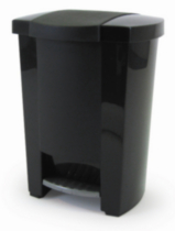 Mistral® 30L Step Can - Black