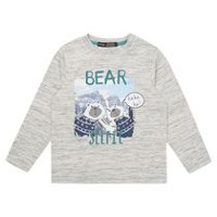 George British Design Toddler Boys' Bear Selfie T Shirt 2T