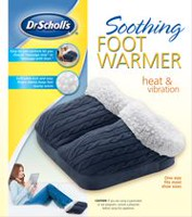 Dr Scholl's Soothing Foot Warmer with heat and vibration