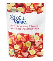 Great Value Sliced Strawberry & Banana