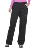 Scrubstar Women's Core Essentials Pull-on Scrub Pant Black 3XL