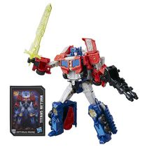 Transformers Generations Titans Return - Optimus Prime de classe voyageur et Diac