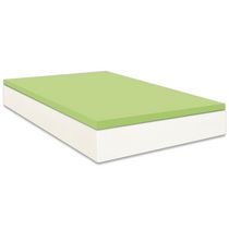 Hometrends 1.25in. Memory Foam Topper Queen