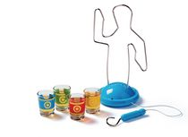 BUZZ HOT WIRE DRINKING PARTY GAME ADULT NOVELTY SHOT GLASSES GIFT