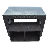 Canadian Spa Co. Straight Bar & Stool - Square Surround Furniture