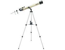 Tasco 660x60mm Luminova Refractor Telescope, 800mm Focal Length