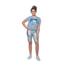 Girls Mini Pop Kids Be Fierce Box Front Tie Top