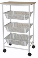 Mainstays Rolling Storage Cart