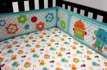 Bordure protectrice polyvalent Coucou Robot de Baby's First