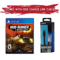 Spintires Mudrunner (PS4) with bonus Nyko Charge Link Cable