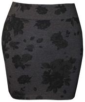 g:21 Body con Skirt Charcoal X-small