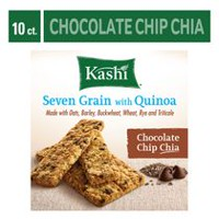 Kellogg's Chocolate Chip Chia Kashi Seven Grain With Quinoa Bars, 200g