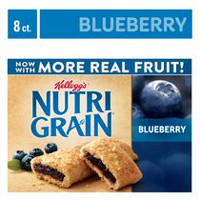 Kellogg's Nutri-Grain Cereal Bars 295g - Blueberry, 8 bars