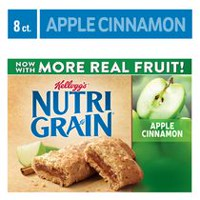 Kellogg's Nutri-Grain Cereal Bars 295g - Apple Cinnamon, 8 bars