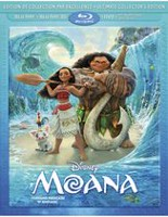 Moana (Blu-ray 3D + Blu-ray + DVD + Digital HD) (Bilingual)