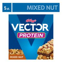 Kellogg's Vector Protein Chewy bars, Mixed Nut - 200g 5 bars