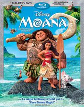 Moana (Blu-ray + DVD + Digital HD) (Bilingual)