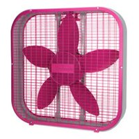 Sunbeam 20 Inch Box Fan Pink