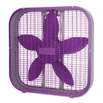Sunbeam 20 Inch Box Fan Purple