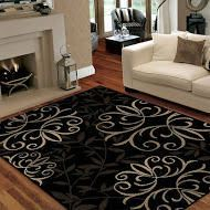 Orian Rugs Iron Fleur Area Rug 5 ft. 0 in. x 7 ft. 6 in.