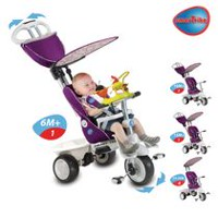 Smart Trike Girls' Recliner 5-in-1 Tricycle