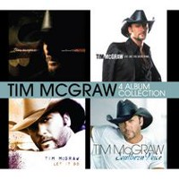 Tim McGraw - 4 Album Collection: Emotional Traffic / Live Like You Were Dying / Let It Go / Southern Voice (4CD) (Walmart Exclusive)