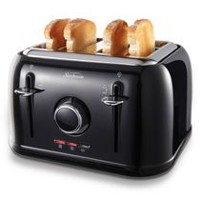 Sunbeam 4-Slice Toaster Black